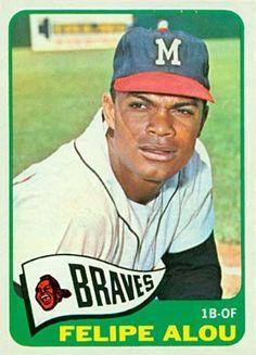felipe%2Balou%2Bbaseball%2Bcard   1965 Topps Felipe Alou #383 Baseball Card
