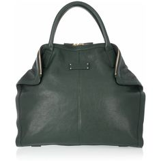 Alexander McQueen The De Manta leather tote ($1,355) ❤ liked on Polyvore