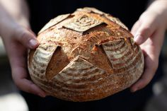 Sourdough bread recipe for beginners - it is very easy - Foodgeek Easy Sourdough Bread Recipe, Wheat Bread Recipe, Bread Recipes, Whole Food Recipes, Cooking Recipes, Beginners Bread Recipe, Recipes For Beginners, Crock Pot Bread, Whole Wheat Sourdough