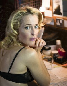 Gillian Anderson from The X-Files