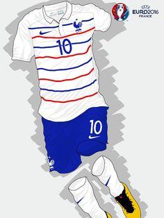 France away kit for Euro 2016 .