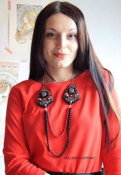 DIY Passion of Carmen Necklace