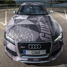 Killer looking design on this wrap from Promoting Wrappers Around the World Are You On The Map? WEB: FB: TWITTE Killer looking design on this wrap from Promoting Wrappers Around the World Are You On The Map? Allroad Audi, Audi Rs6, Supercars, Audi Quattro, Chevy Camaro, Suv Bmw, Carros Audi, Vehicle Signage, Porsche Cars