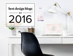 Find the best design blogs of 2016 for interior design: Little Green Notebook, The Design Files, A Beautiful Mess, Design Sponge, and so much more.