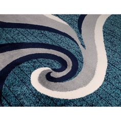 Found it at AllModern - Summit Navy Area Rug
