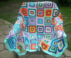 Granny afghan 20 OFF price by turtlemurtle on Etsy, $195.00