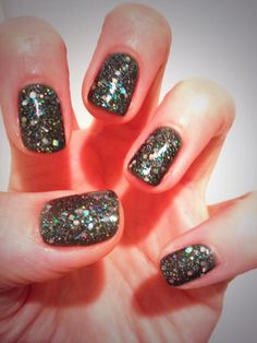 Jessica GELeration Monarch with Effects Glitzy Sparkles on top. Created by Claire Newson.