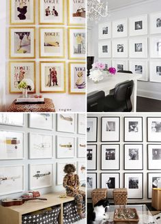 20 Inspirational Gallery Walls by Style | AO at Home Blog