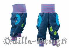 Pumphosen - Pumpi Raindrops Wunschgröße - ein Designerstück von Odilla-Design bei DaWanda