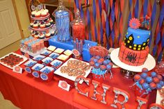 Bird's Party Blog: An Amazing Spiderman Inspired Birthday Party