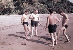 Юрий Гагарин на Цейлоне
