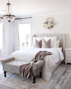 Bedroom setup - Cool Home Interior Design Ideas You Must Try Asap – Bedroom setup Bedroom Setup, Master Bedroom Design, Home Decor Bedroom, Modern Bedroom, Bedroom Inspo, Contemporary Bedroom, Bedroom Furniture, Master Suite, Bedroom Rugs