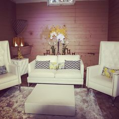 We love this white collection, perfect for any event! By Rocket Event Services, see more at www.rocketevents.com.au