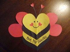 valentine day bee craft (4)