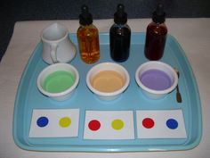 color mixing...science or sensorial?