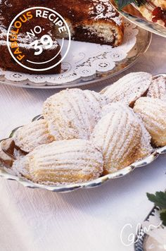 Colin's delicious Madeleines recipe is fantastic for a spring outdoor wedding.