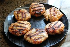 Healthy grilled turkey burgers.  Recipe video:  http://youtu.be/1OLz4sr971w