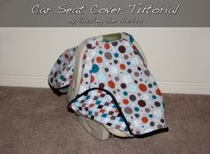 Sharing the Wealth: Car Seat Cover Tutorial with bias tape