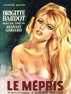 "Le Mépris, film by Jean-Luc Godard (b. dec 3) adapted from a book by Alberto Moravia (b. nov 28) that Godard called ""a nice, vulgar read for a train journey""..."