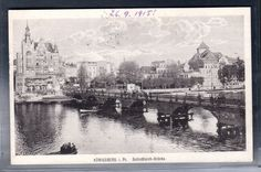 Fotokarte Königsberg, Schloßteich-Brücke in Sammeln & Seltenes, Ansichtskarten, Ehemalige dt. Gebiete   eBay!
