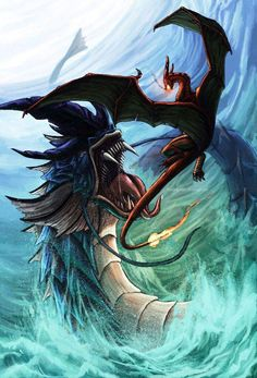 Gyarados vs Charizard by FleetingEmber l Pokemon Pokemon Fan Art, Pokemon Go, Giratina Pokemon, Pokemon Cards, Gyrados Pokemon, Tribal Pokemon, Pokemon Maker, Pokemon Dragon, Pokemon Charizard