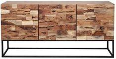 Meer Design Dressoir Proxima | Vergelijkprijs.nl Firewood, Texture, Table, Crafts, Furniture, Design, Home Decor, Products, Surface Finish