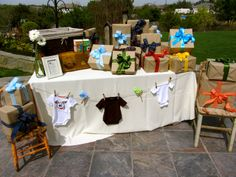 A Little Love and Lace: Rustic Baby Shower