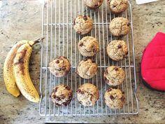 Flourless Banana Chocolate Chip Muffins Recipe