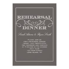 Discount DealsSwirl Grey Rehearsal Dinner Invitationlowest price for you. In addition you can compare price with another store and read helpful reviews. Buy