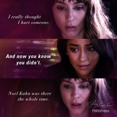 """S7 Ep9 """"The Wrath of Kahn"""" - All the virtual hugs for Spencer. ❤️ #PrettyLittleLiars"""