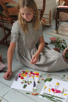 Make and Decorate Your Own Nature Paper Dolls - Mer Mag