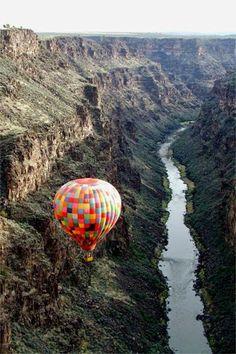 http://BlueChipMoney.com - #Balloon #Trip, #RioGrande Air Ballon, Hot Air Balloons, Big Balloons, Balloon Glow, Air Balloon Rides, Rio Grande Gorge, Taos New Mexico, Land Of Enchantment, Welt