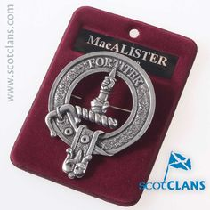 MacAlister Clan Cres
