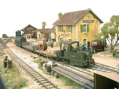 Les Mages. One of the best model railway work around. Great scenery, loco building.