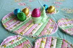 A really neat blog post with Easter crafts. Definitely doing a few of these!
