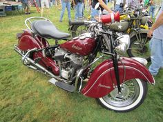 1948 Indian Chief Roadmaster – Indian Motocycle Day: July 21, 2013