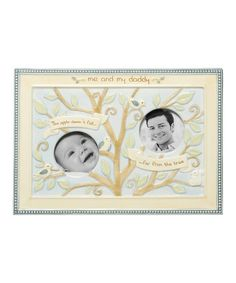 Take a look at this Beige 'Apple Doesn't Fall Far From the Tree' Double Frame by Grasslands Road on #zulily today!