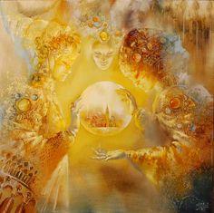 Атмосфера волшебства и мечты в картинах Чубакова Олега - Ярмарка Мастеров - ручная работа, handmade