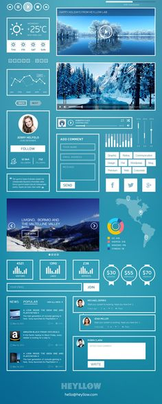 Free UI kit for fans of super-minimal | Web design | Creative Bloq
