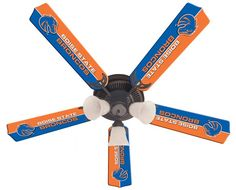 Use this Exclusive coupon code: PINFIVE to receive an additional 5% off the Boise State Broncos 52-Inch Ceiling Fan Kit at SportsFansPlus.com