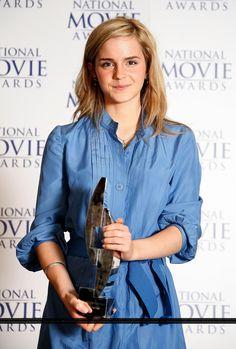 Emma Attends National Movie Awards 2007