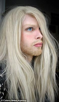 Who is Luis Padron? While many people spend thousands of dollars on plastic surgery fixing the parts of them they don't like, Luis Padron is a man who wants to look like an elf. Nils Kuiper, Male Elf, Character Inspiration, Style Inspiration, Boys Long Hairstyles, Blonde Boys, D D Characters, Plastic Surgery, Male Models