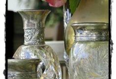 Meade Café decor Glass Vase, Home Decor, Interior Design, Home Interiors, Decoration Home, Interior Decorating, Home Improvement