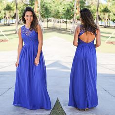 Check out this NEW color that just arrived! It looks stunning on your fave crochet maxi! Shop at savedbythedress.com