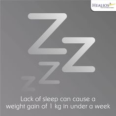 Losing out on sleep creates a vicious cycle in your body, making you more prone to various factors contributing to weight gain.  #Wellness  For more details visit us:http://www.healios.in/