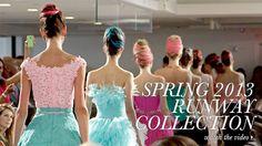 Spring 2013 Collection..Oscar de la Renta