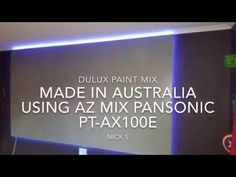 Projector Screen Grey projection screen (AZ Silver Grey Pearl Paint)Day Viewable. DIY Screen paint - YouTube