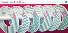 ON SALE 6 Custom Baby Closet Dividers in by GinaMarieOriginals