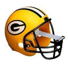 NFL TAPE DISPENSER HELMET GREEN BAY Available On Www.McShanes.com #business  #