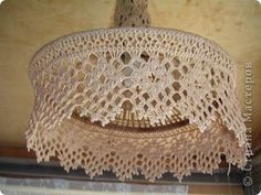lace doily light cover